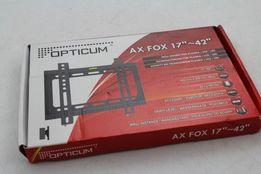UCHWYT DO TV LED/PLAZMA AX FOX 42 OPTICUM mały tani i wytrzymały absol