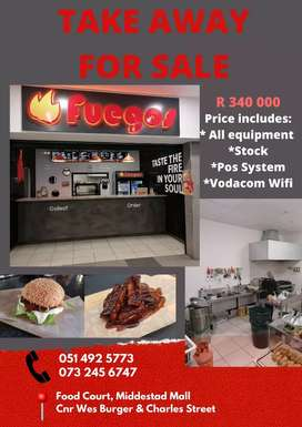 Newly Take Away for sale