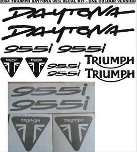 2004 Triumph Daytona 955i decals sticker kits