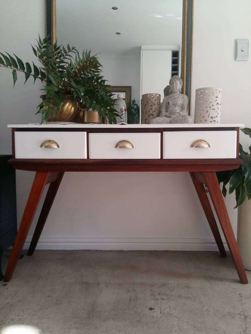 Mid Century Refurbished Dresser /Side Table 0