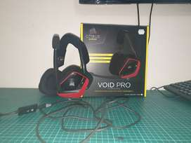Corsair Void Pro Surround Gaming Headset With Dolby 7.1 – Red