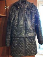 Пальто трансформер пуховик осень зима Reebok оригинал черный