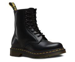 Мужские демисезонные ботинки dr.Martens 1460 black OX-12013