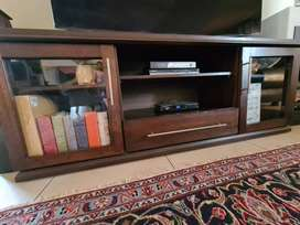 2m TV wooden cabinet