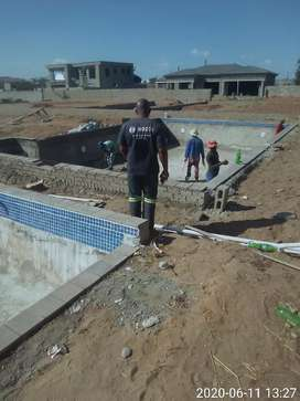 SWIMMING POOLS AND CONSTRACTION