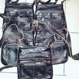 Genuine Leather Bags .