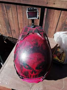 Off road helmet with 4k camera for sale