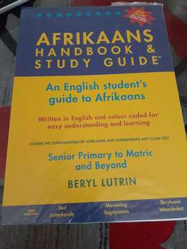 Afrikaans and English Handbook & Study Guide