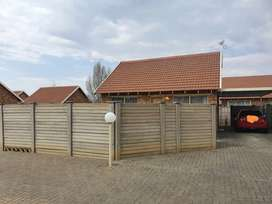 TWO BEDROOM TOWNHOUSE FOR SALE IN ROODEWAAL
