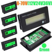 Цифровой вольтметр+ индикатор автомобильного аккумулятора