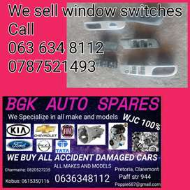 We sell window switches for most cars give us a call