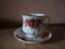 """Яркая английская чайная пара из серии """"Лондонская Коллекция"""""""