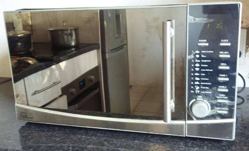 DEFY Microwave Oven with Grill and Mirror Door 0