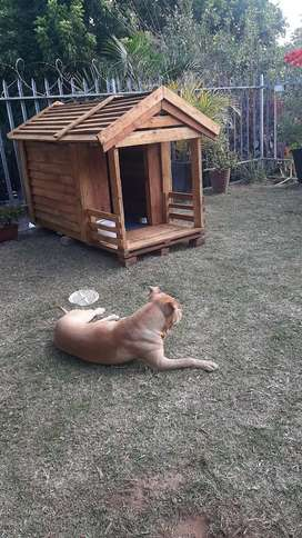 Wooden kennel for Sale