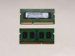 Оперативная память DDR 3 2 по 1 Gb с macbook