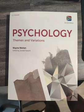 Psychology first year book SU (never used)
