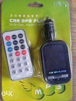 Transmiter samochodowy FM MP4 nowy