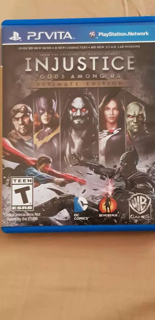 PS VITA INJUSTICE gods AMONG US ULTIMATE EDITION 0