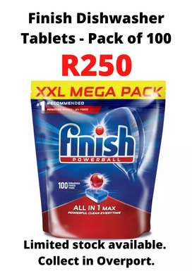 Finish Powerball Dishwasher Tablets - Pack of 100