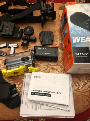 Екшен камера Sony HDR-AS30V Полтава - изображение 1