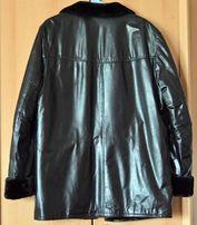25.09.18 Зимняя кожаная куртка-дубленка ARBER с натуральным мехом