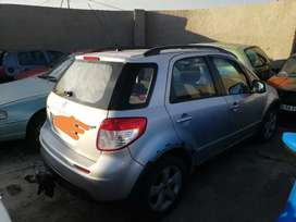 Good day im striping my suzuki sx4 2.0L for spares or to sell AS IS