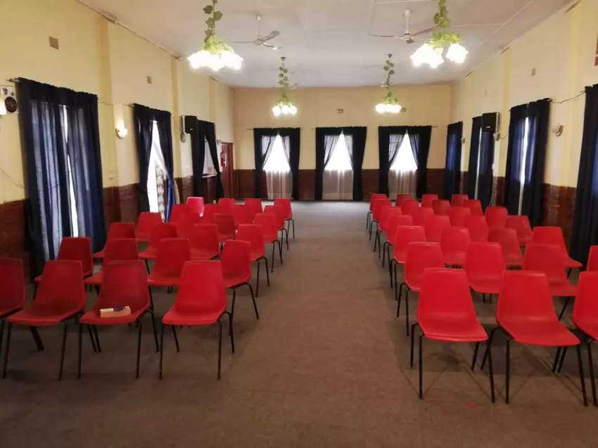 Large hall to rent accommodating 100+ seats 0