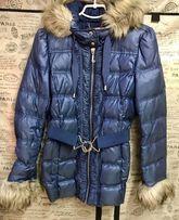Зимнее пальто пуховик Juicy Couture Adidas
