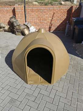 JoJo Dog kennel igloo - Brown (extra Large