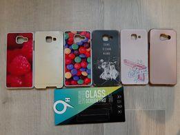Etui case pokrowiec Samsung Galaxy A5 2016+szkło hartowane!