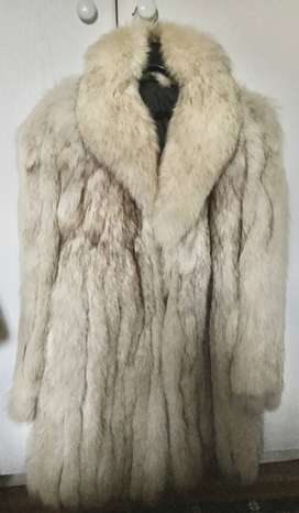Genuine Silver Fox Coat10