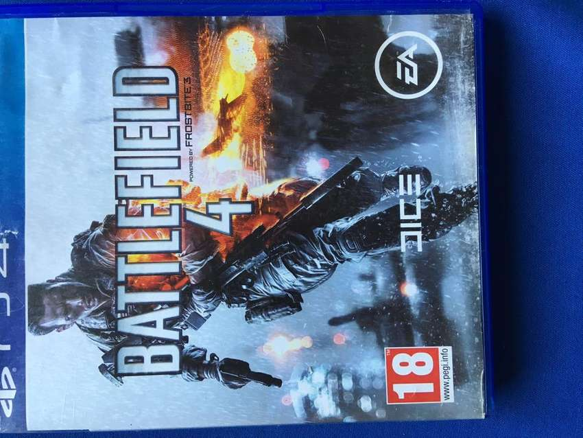 Battlefield 4 PS4 Game 0