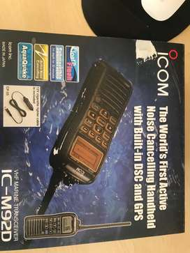 ICOM IC-M92D VHF MARINE RECEIVER WITH DSC