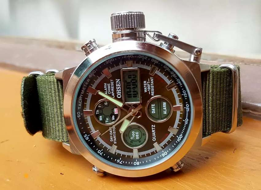 Ohsen Army watch 0