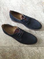 Мужские туфли кожаные Davis made in Itali 28cm 43размер