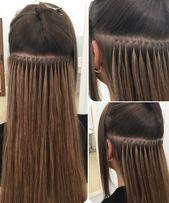 Наращивание волос. Итальянское наращивание волос.