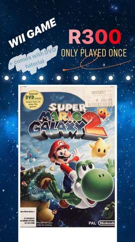 WII GAME - Super Mario Galaxy