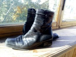 ботинки зимние Claudio Fracasso на 38 -38.5 p. б/у