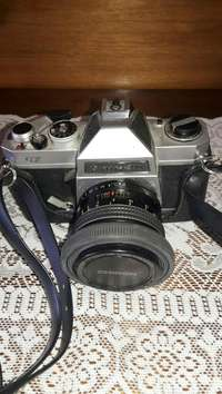 Image of Vintage Chinon Camera with everything