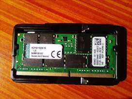 Kingston 16GB DDR4 2133MHz Notebook Memory Module (KCP421SD8/16)