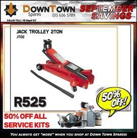 Jack Trolley 2 Ton ONLY R525 at Downtown Spares!