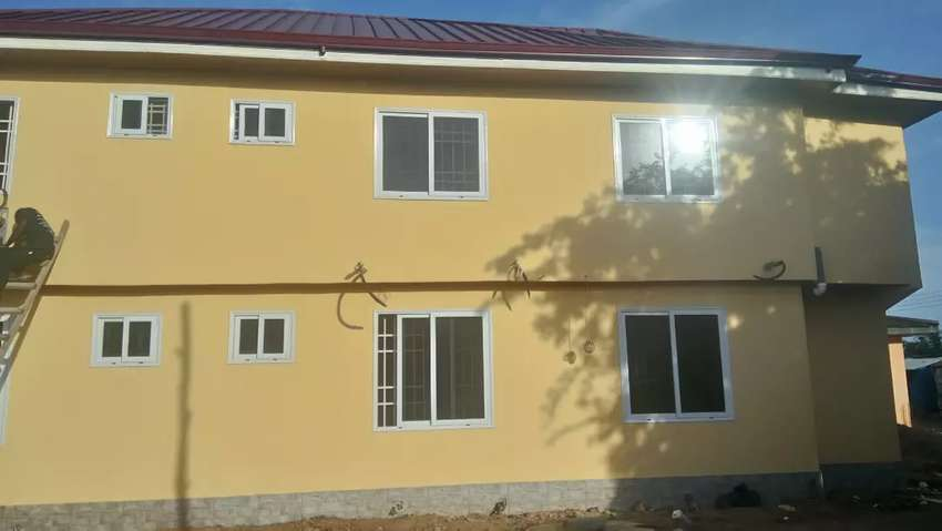 Brand new morden chamber and hall self contain to let Nungua 0