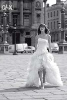 Suknia ślubna, krótki przód, suknia na lato, Cymbeline