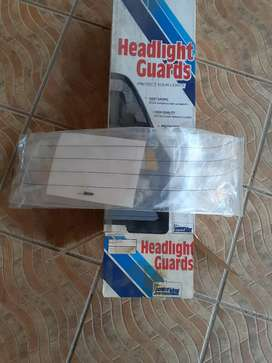 Audi 500 late model headlamp shields