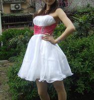 Новое эффектное вечернее,коктейльное платье.размер s(42-44)