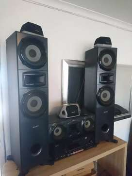SONY 6.2 HOME ENTERTAINMENT SURROUND SOUND SYSTEM