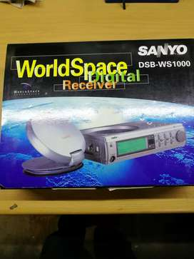 Sanyo world space radio for sale
