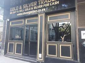 Gold buying shop for sale