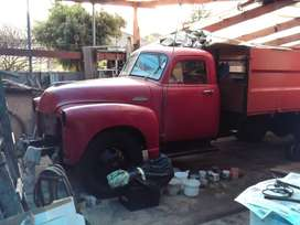 1954 Chev Model 6500 2 ton truck partly restored