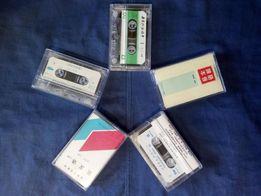 Новые аудио-кассеты для магнитофонов, производство Китай.